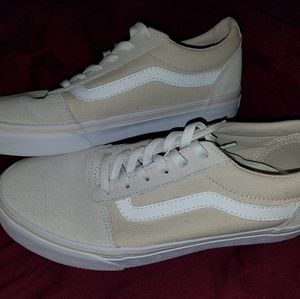 Tan/Cream Vans